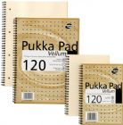 Pukka Pad Notebook Wirebound Vellum 80gsm Ruled and Margin 120 Pages A4 Ref VJM/1 [Pack 3]